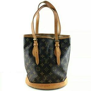 Auth Louis Vuitton Bucket Bag PM